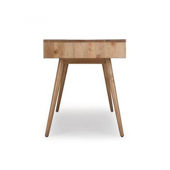 Mid-century modern solid wood minimalist desk table