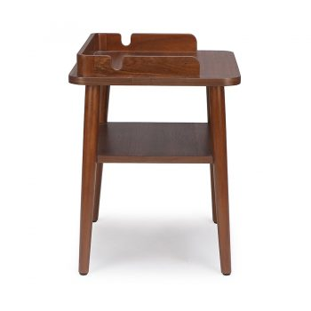 Traditional solid wood night bedside table