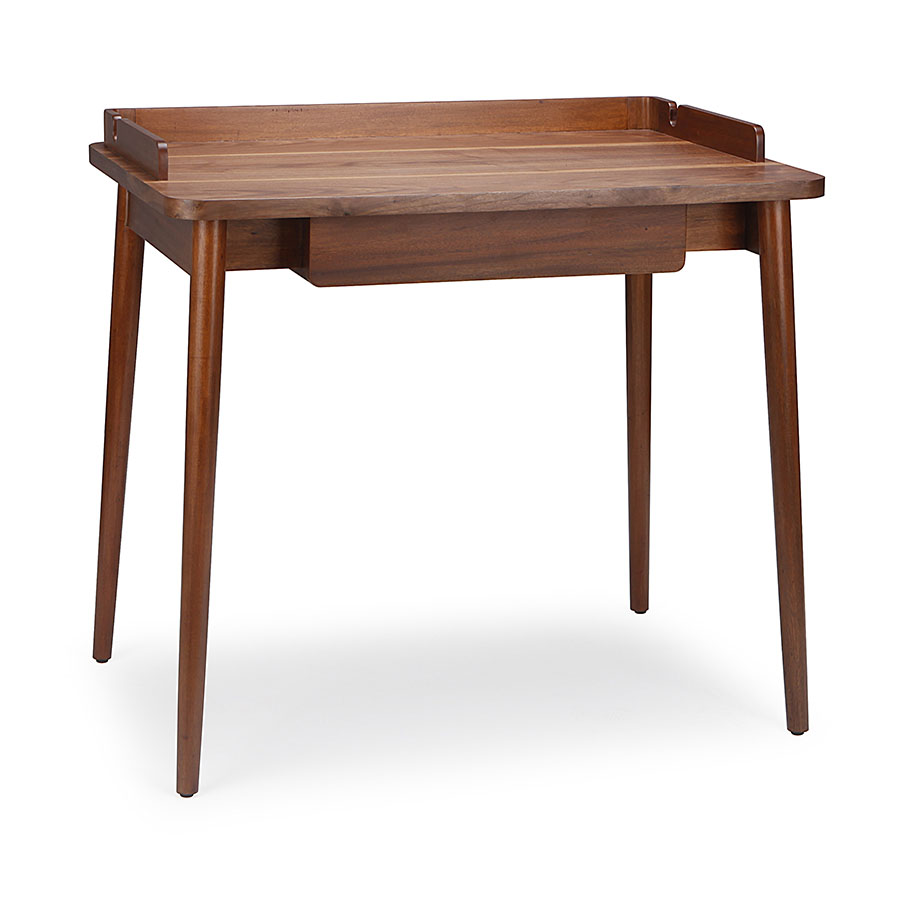 Traditional solid wood desk working table