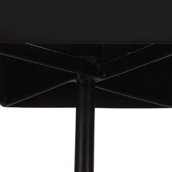 Minimalist sleek modern metal and tapered fabric shade table lamp